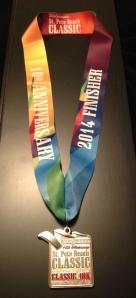 My first 10k medal :)