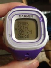 Recap of my run.