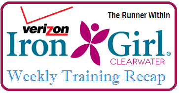 Iron Girl Weekly Recap Header